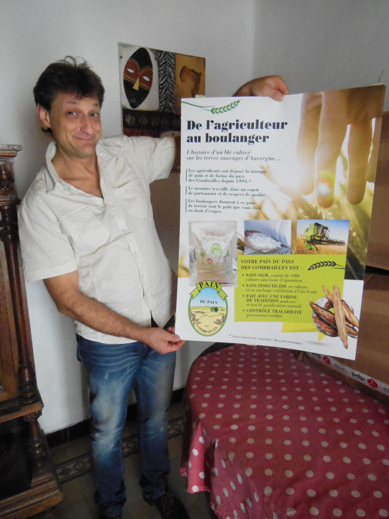 Christophe Cafière - Moulin des Combrailles