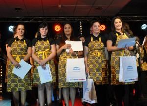 5 lauréates Talents Conseil et Vente 2015