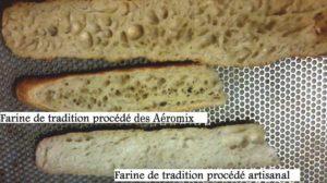 Pains procédés Aeromix