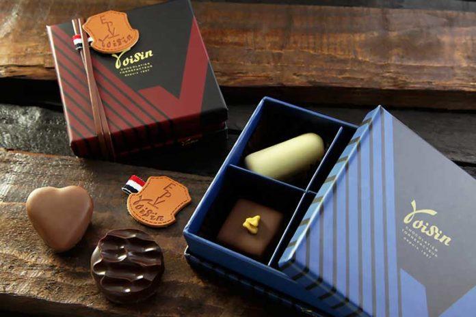 Chocolat Voisin - Etui Chocolat Isetan