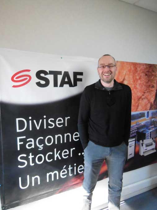 STAF - Arnaud Danet - Responsable usine de Vendôme