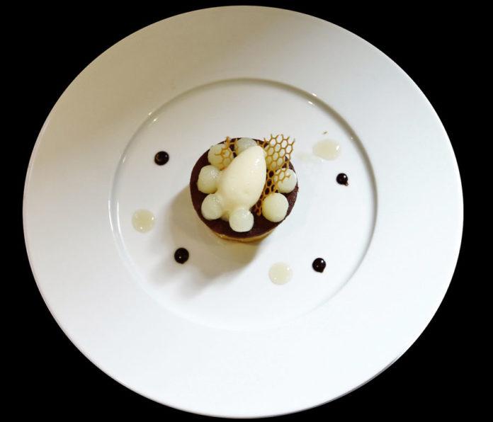 Le dessert du gagnat Romain Schaller