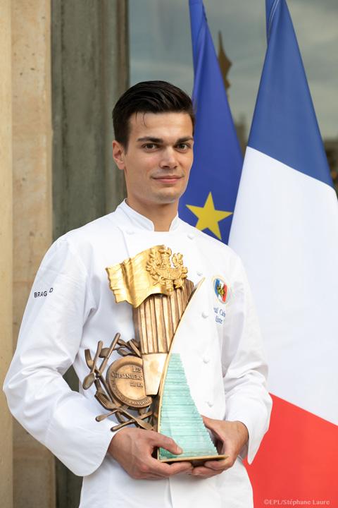 Paul Cabaye, gagnant du Challenge Culinaire 2019