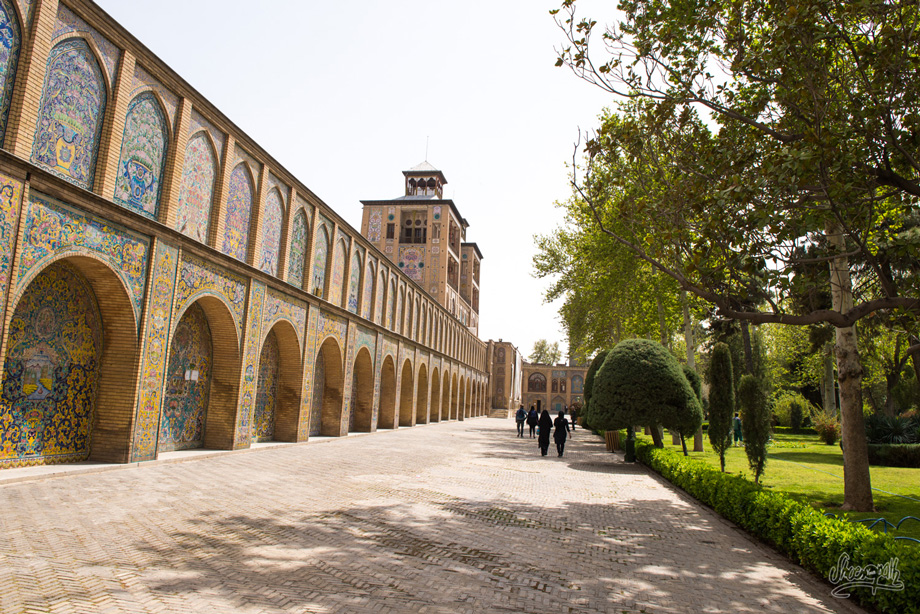 Téhéran Golestan Palace