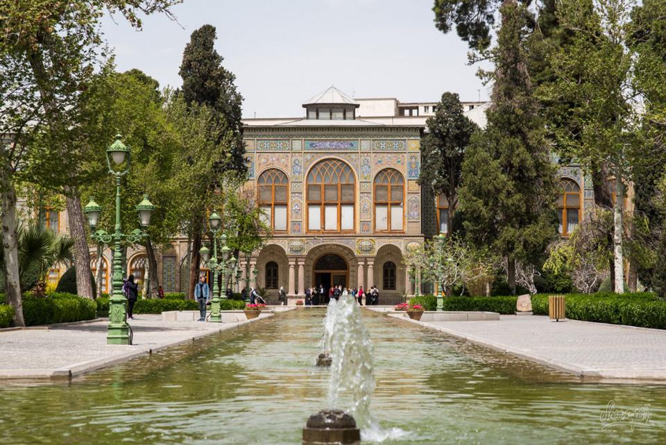 Téhéran, le Palais
