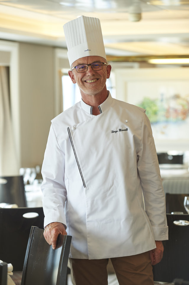 Portrait Chef Pâtissier Serge Hinault © Yvan Zedda