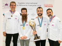 Dorian ZONCA, Vainqueur du 1er Trophée International de la Pâtisserie Française