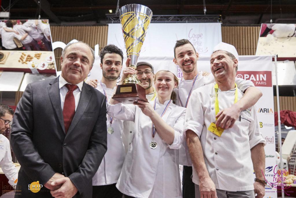 Dominique Anract Président CNBF et Champions excellence - Coupe de France des Écoles