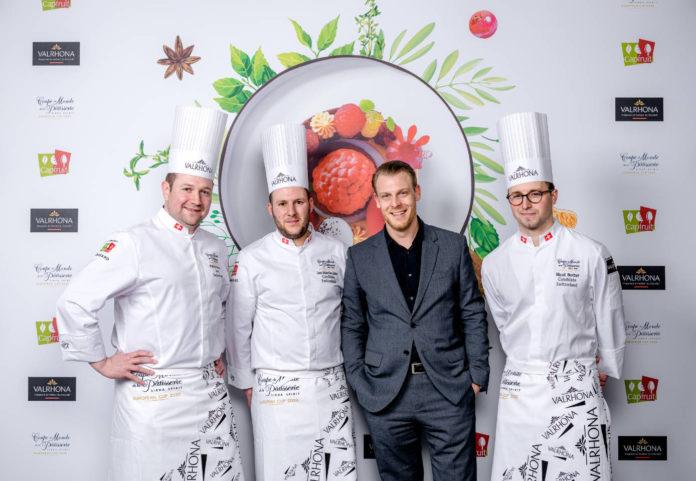 Equipe de Suisse, gagnante de la Coupe d'Europe de la Pâtisserie