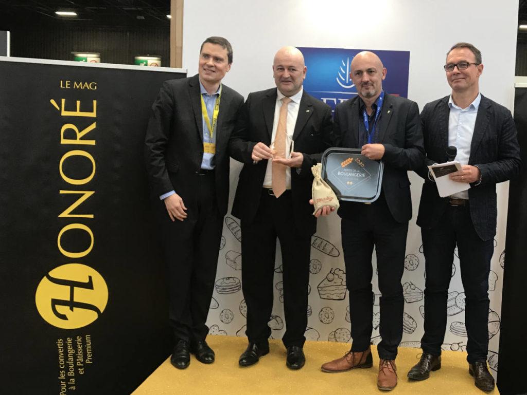Prix Pépite de la Boulangerie Lesaffre Honoré le Mag - Europain 2020