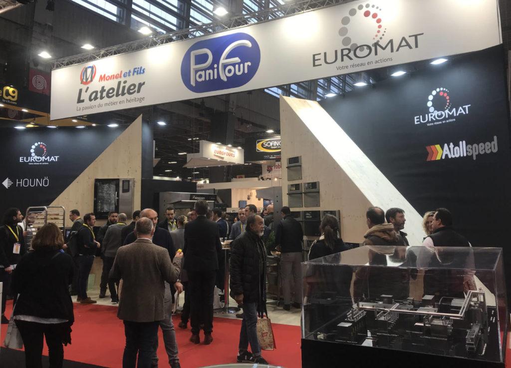 Stands Monel et Fils, PaniFour et Euromat - Europain 2020
