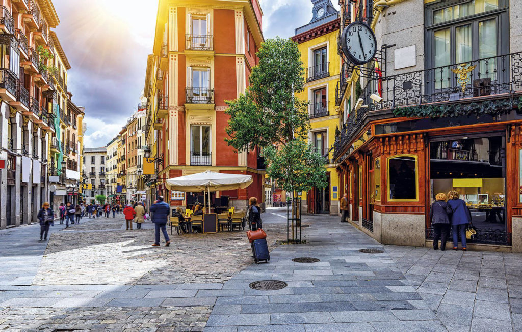 Madrid, Vieux Quartier de Las Letras © National Geographic