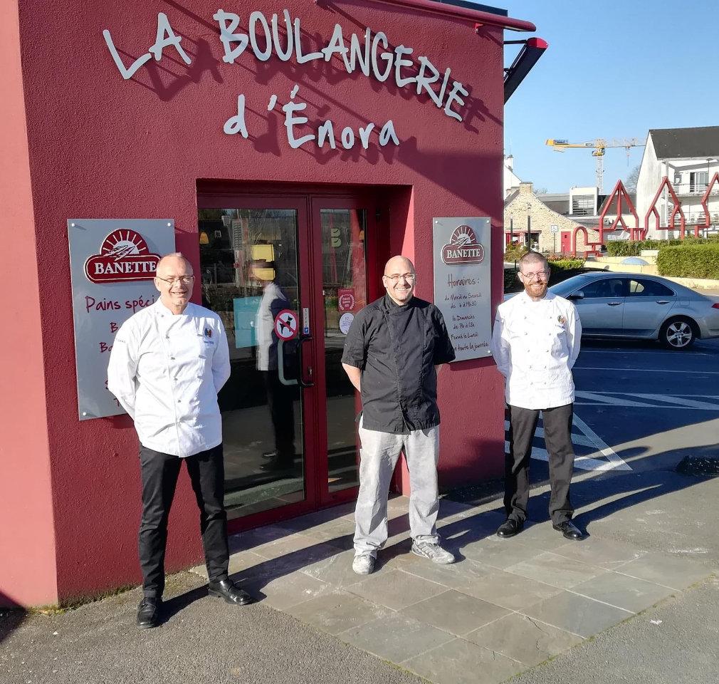 Boulanger à Queven, Jérôme Fouré - Boulangerie D'Enora