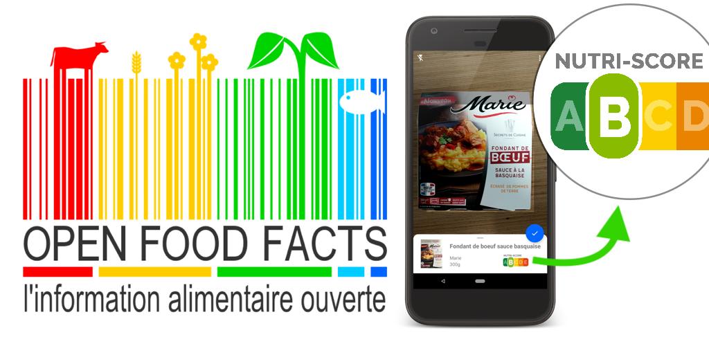 Logo Open Food Facts & nutri-score