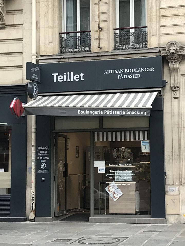Boulangerie Pâtisserie Teillet Paris 5e