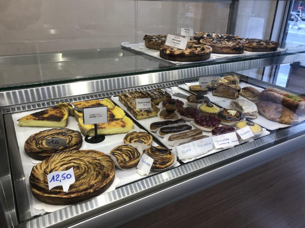 Vitrine Boulangerie Pâtisserie Teillet Paris 5e