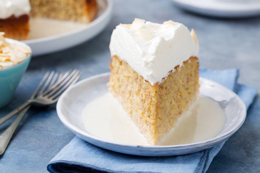 Dessert gâteau 3 leches