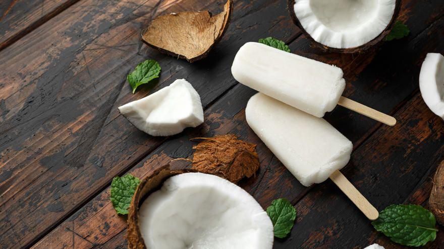 Dessert glaces coco