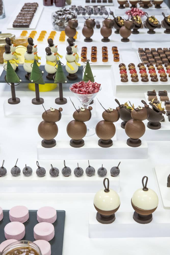 """Stage """"bonbons, chocolat, sujets de Noël et confiserie"""" Yvan Chevalier ENSP"""