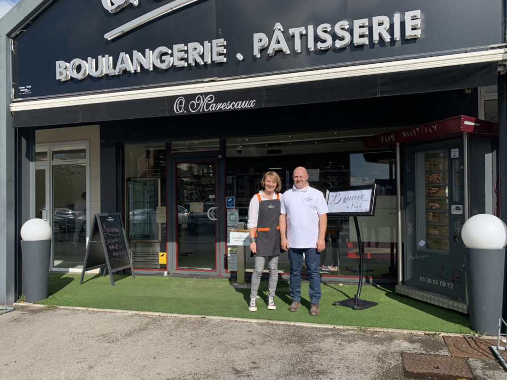 Anne-Sophie Dael et Jérôme Varet, les Vainqueurs du Concours des Jeunes Entrepreneurs en boulangerie (CJE)