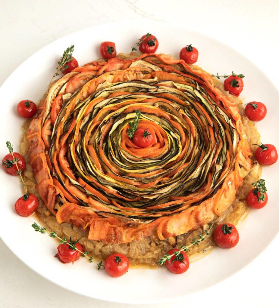 L'art de magnifier les légumes de Faqra Catering