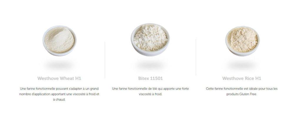 Farines fonctionnelles - texturantes Limagrain