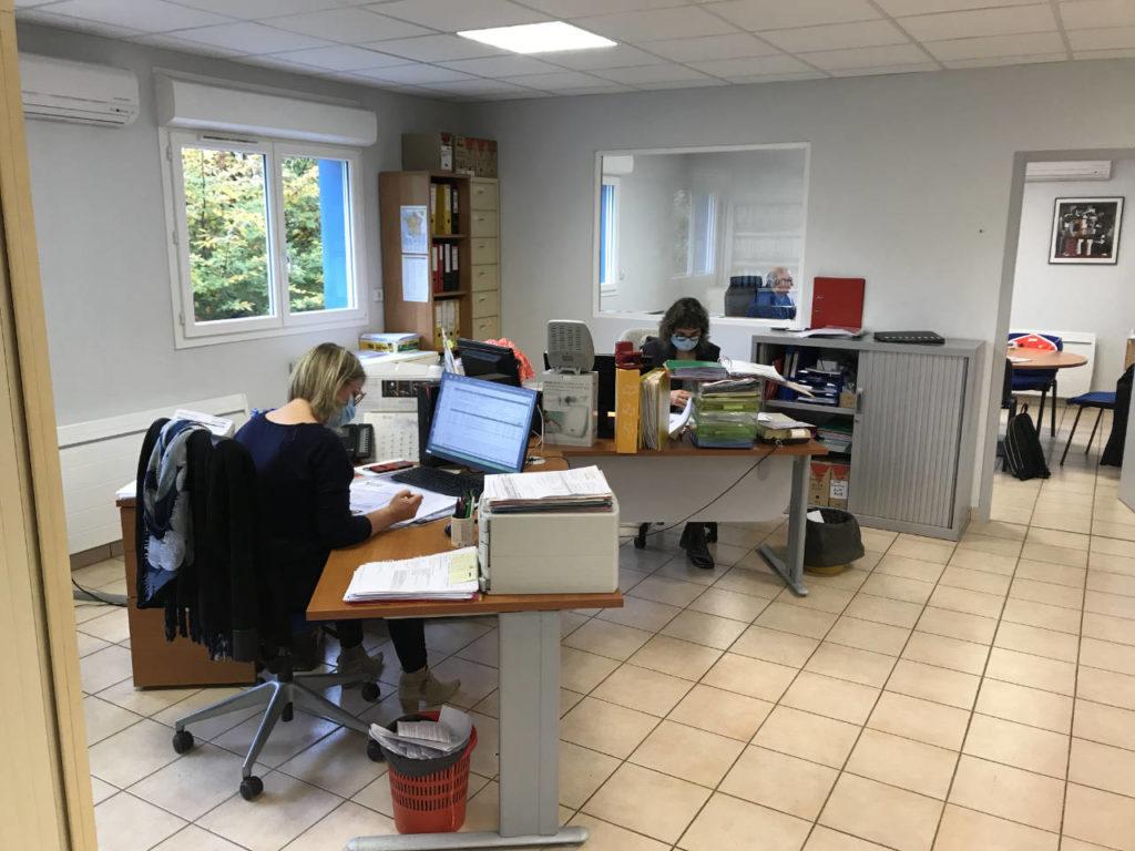Service administratif Spiral