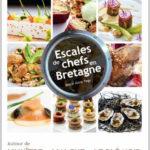 """Couverture du livre de Marie Anne PAGE """"Escales de Chefs en Bretagne"""""""