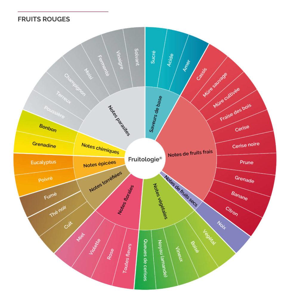 Roue fruits rouges Fruitologie - les Vergers Boiron