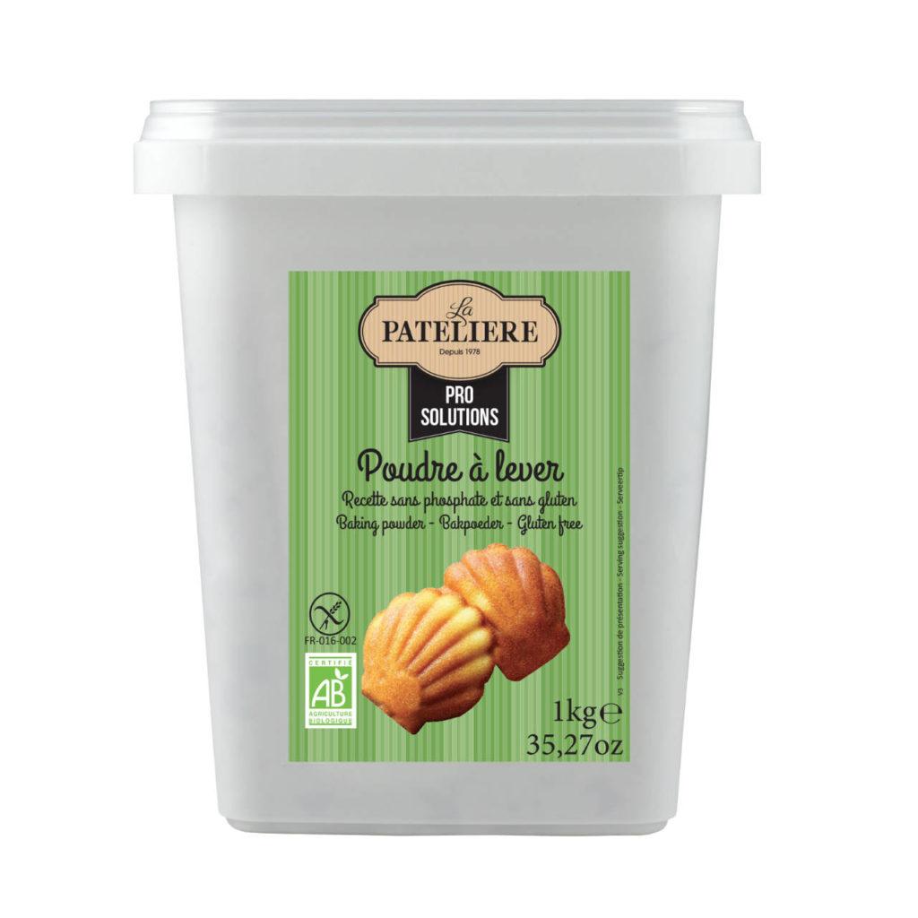 Poudre à lever sans gluten et sans phosphate bio 1kg