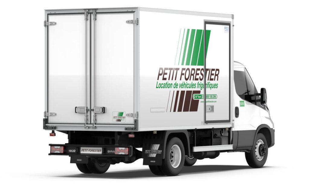 Le Petit Forestier, location de véhicules réfrigérés