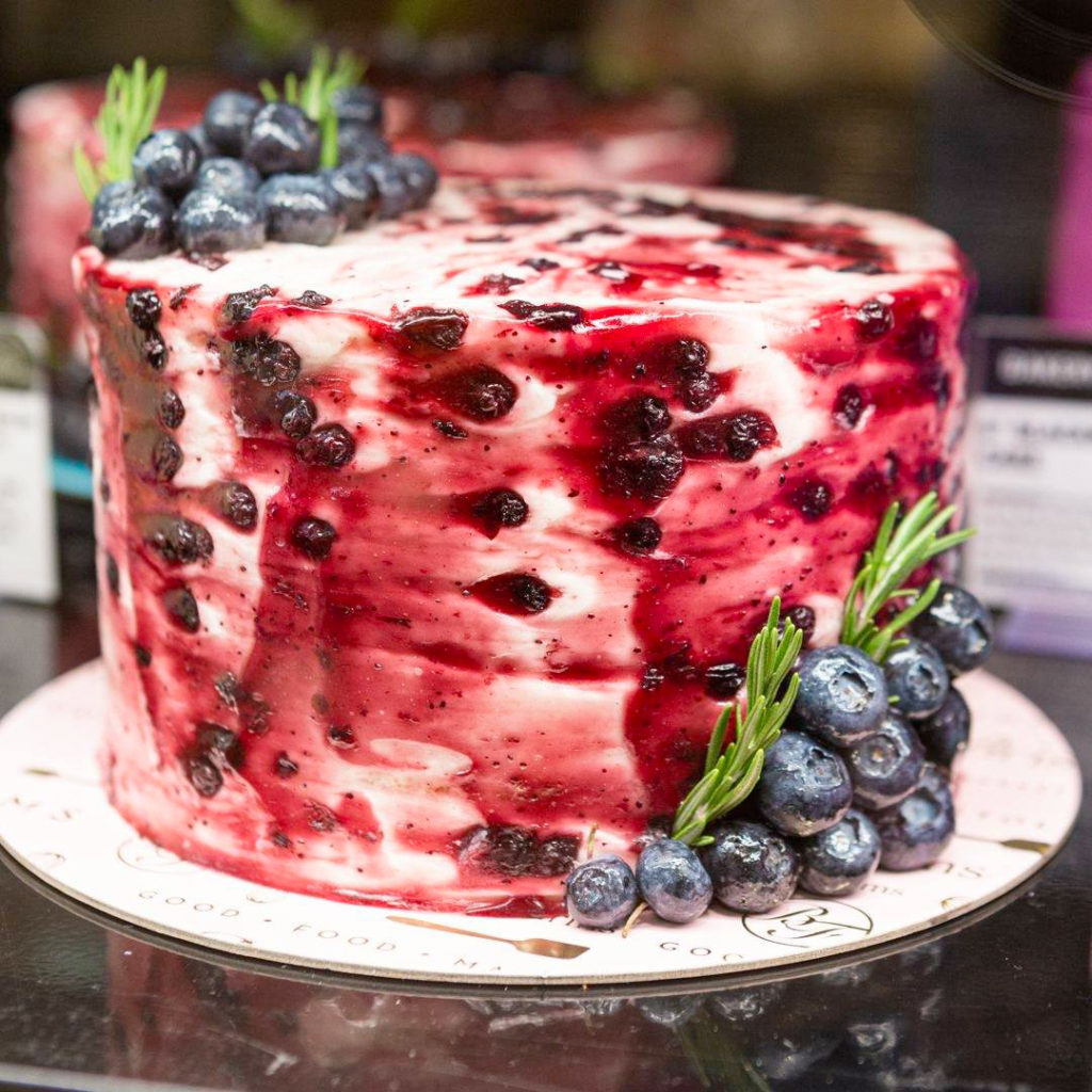 Le cake myrtilles vanille