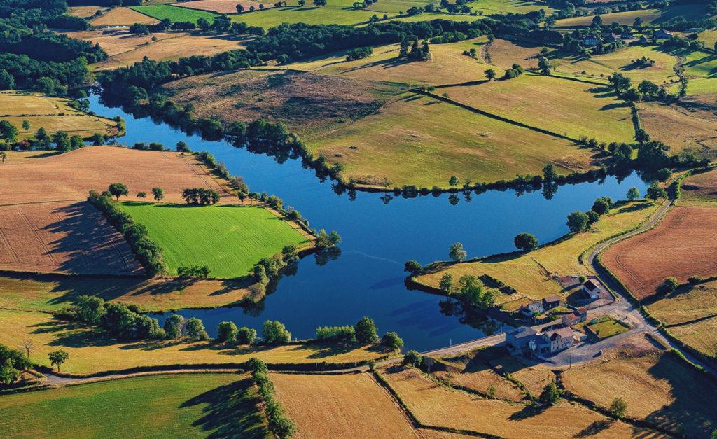 Le moulin et l'étang - Moulin de Briffaud, Minoterie Carnat