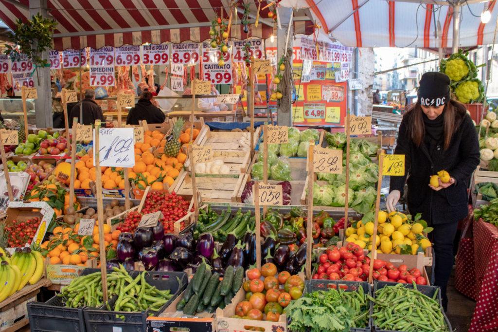 Au marché de Ballaro - Horizons Palerme