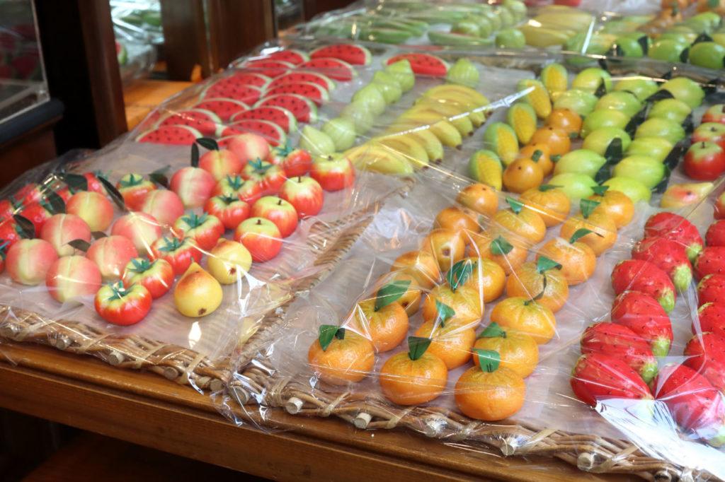 Fruits en pâte d'amandes - Horizons Palerme
