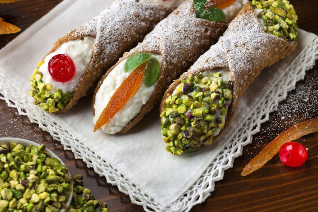 Les fameux cannoli - Horizons Palerme