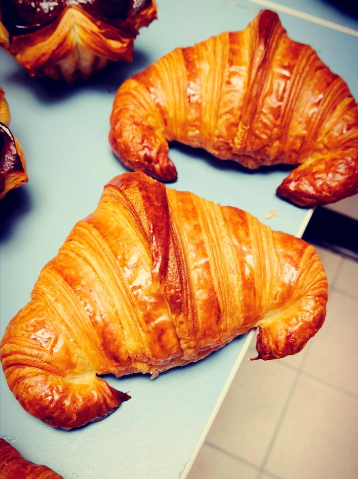 Illustration croissants