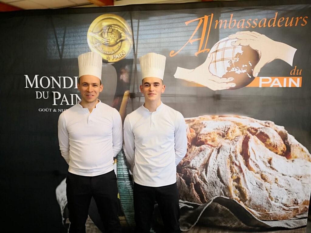 Alexandre Laumain et Jonathan Duval, Vainqueurs sélection France 8e Mondial du Pain