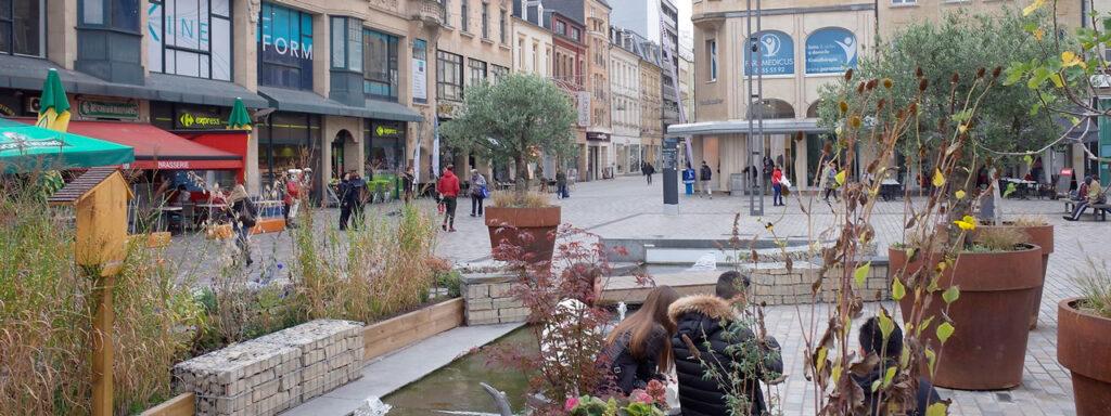 La mairie d'Esch sur Alzette préserve la dynamique du centre-ville.