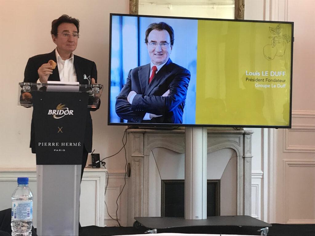 Louis Le DUFF, Président du Groupe Le DUFF