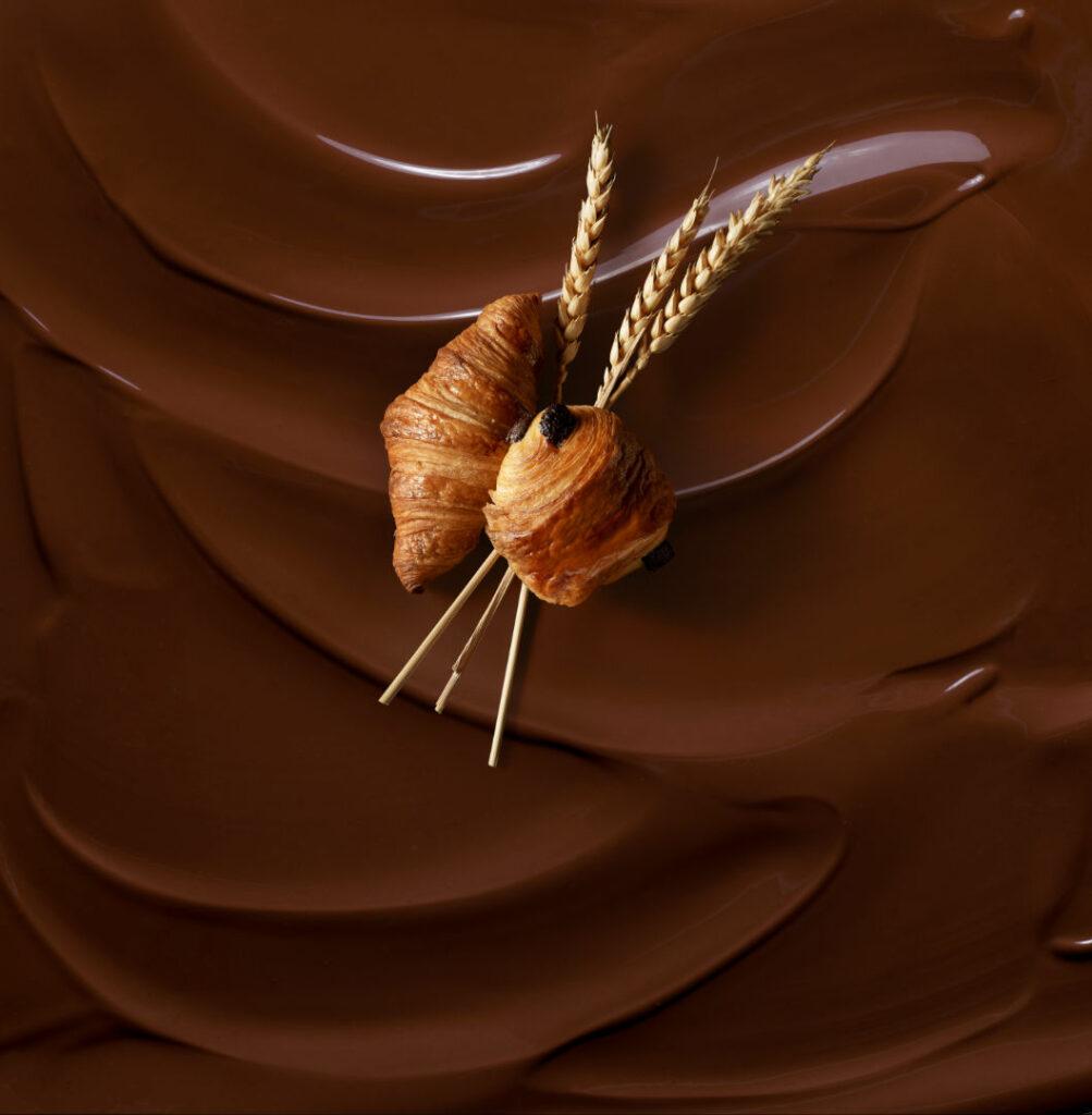 Mini croissant et pain au chocolat de Madagascar