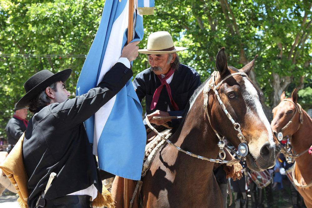 En Uruguay les gauchos font partie du patrimoine culturel